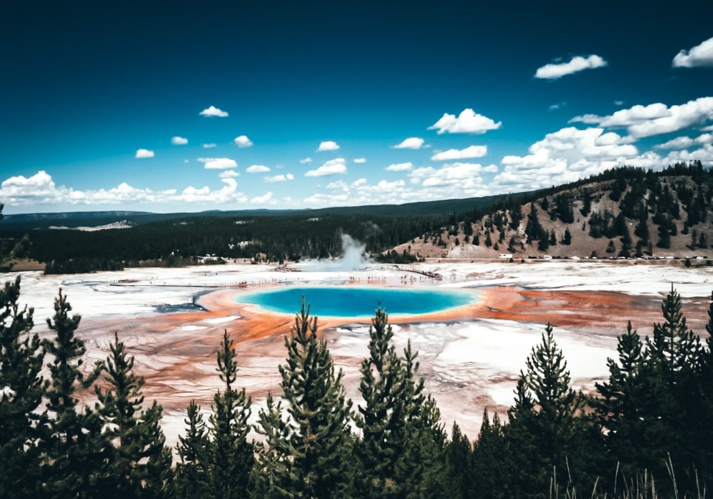View of Grand Prismatic from above