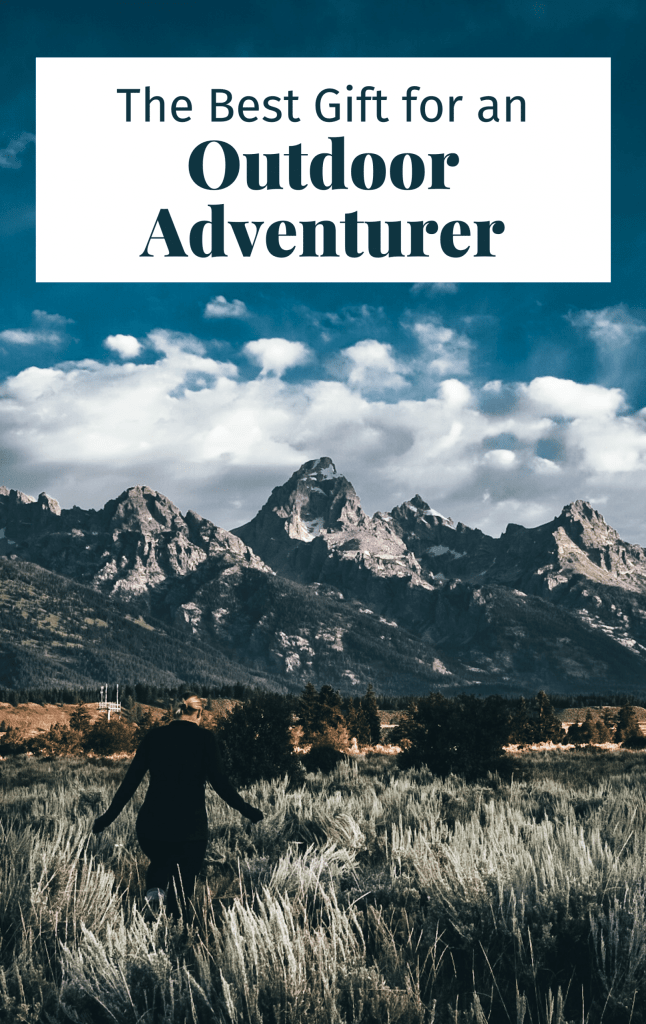 Pinterest cover for this article showing woman at Grand Teton National Park