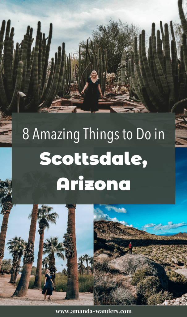 Pin cover for Things to Do in Scottsdale blog post 3