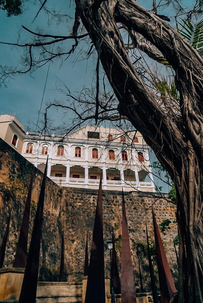 Back of La Fortaleza in Old San Juan