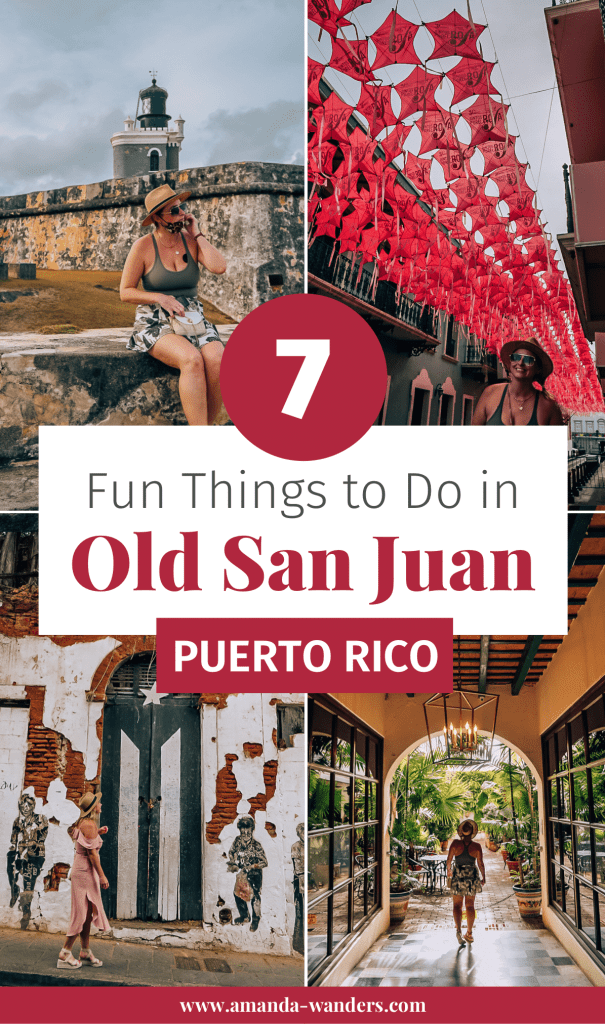 What to Do Old San Juan Blog Cover for Pinterest